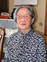 梶登志子さんの写真
