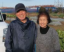 清水濶・政子夫妻の写真