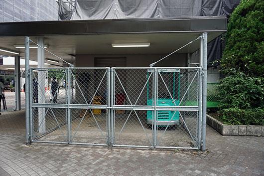 団地タクシー駐車スペース